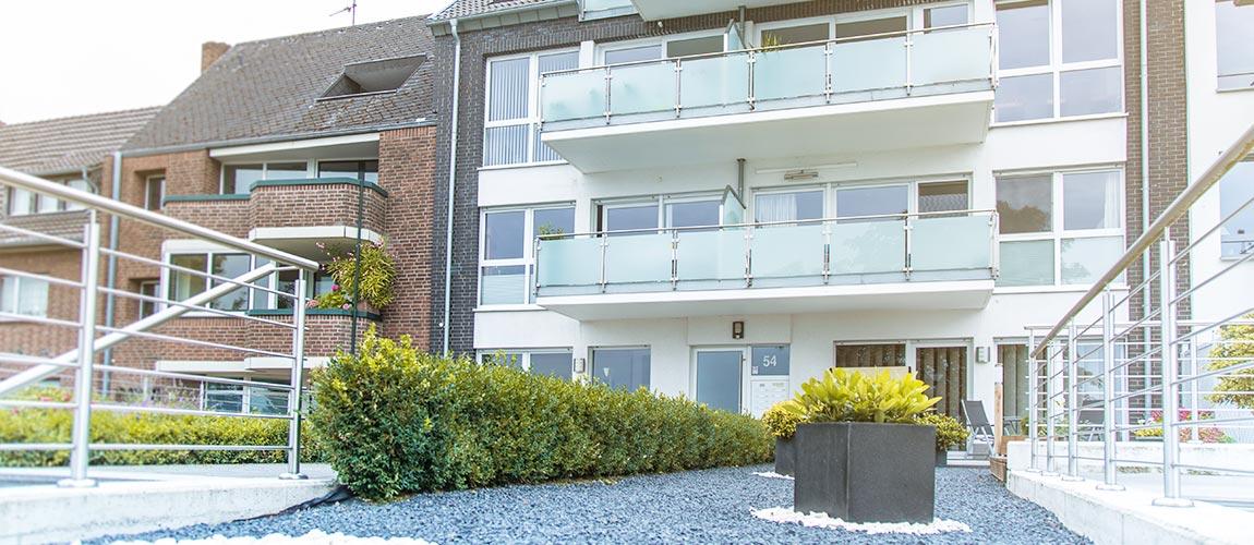 Exklusive Eigentumswohnungen mit Blick auf den Rhein
